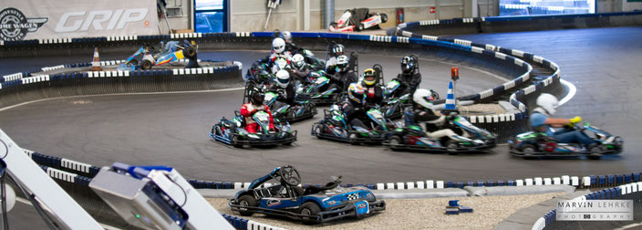 Indoor Kartrennen am 31. Oktober um den BAC – Herbst Grand Prix 2017